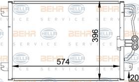 Hella 8FC351037751 - CONDEN.NEW BEETLE