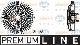 Hella 8MV376732231 - M.CENTRIF.A4/A6/A8/PASSAT/SUPER B 2.4/2.6/2.8TDI