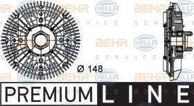 Hella 8MV376732411 - EMBR.VISCO BMW 3(E30/E36)/5(E34