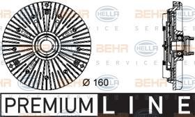Hella 8MV376732031 - M.CENTRIF.A4/A6/A8/PASSAT/SUPER B 1.6/1.8/1.9TDI