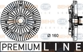 Hella 8MV376732111 - EMBR.VISCO SPRINTER (T1 N)