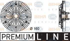 Hella 8MV376732401 - EMBR.VISCO MERC.E/C(W124/W202)