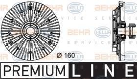 Hella 8MV376732441 - EMBR.VISCO CABSTAR 160