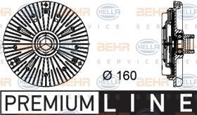 Hella 8MV376734441 - EMBR.VISCO+ASPAS RAD.KIA BESTA/SPORTA