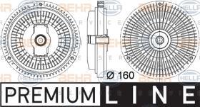 Hella 8MV376757331 - EMBR.VISCO.VENTIL.MB  C-CLASS/E-CL