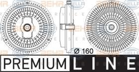 Hella 8MV376757341 - EMB.VENT.MB E-CLASS