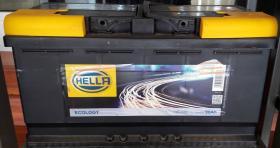 Hella HE0090 - BATERIA 80/740A.+DCH 315X175X175 AUDI/BMW/FORD CORTA