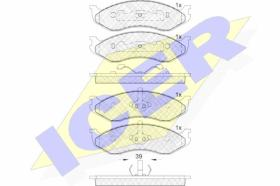 Icer 140968 - J.PAST.DEL.TERRANO II/MAVERIC/SERENA