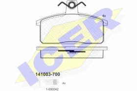 Icer 141003700 - J.PAST.DEL.SUZUKI