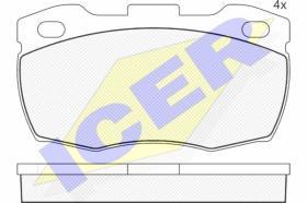 Icer 141089 - J.PAST.DEL.CITR/FIAT/PEUG.
