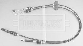 Borg & Beck BKG1049 - CABLE CONTROL DE CAMBIO