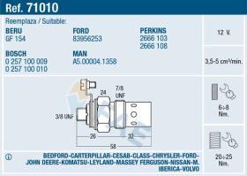 Fae 71010 - CALENTADOR STANDARD