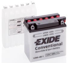 EXIDE 12N94B1 - BATERIA 12/9A.+DCH 135X75X139