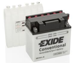 EXIDE EB16CLB - BATERIA 12/16A.+DCH 207X71,5X164 T2
