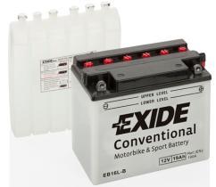 EXIDE EB16LB - BATERIA 12/19A.+DCH 175X100X175 H.DAVIDSON