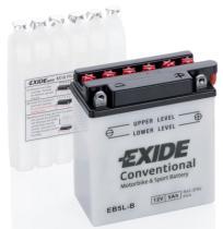 EXIDE EB5LB - BATERIA 12/4A.+DCH 120X70X92