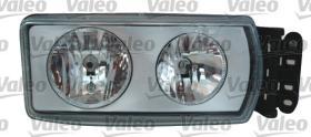 Valeo 089340 - FARO IZQ.H7+H7 C/E.EUROCARG/STRALIS