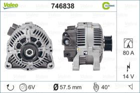 Valeo 746838 - ALT.12/70A OPEL C/DEPR. CLASSIC