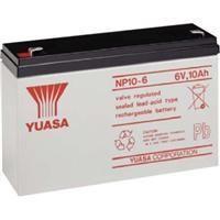 Yuasa NP106 - BATERIA 6/1,2A  97X25 ELECTR.