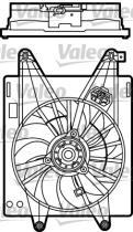 Valeo 698485 - VENT.REFR. FIESTA 1.6 (08->)