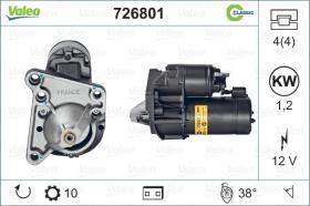 Valeo 726801 - MOTOR ARRANQUE PREMIUM RENOVADO