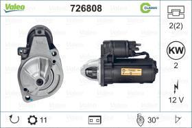Valeo 726808 - ARR.12V 10/11D CITR/FIAT/PEUG. (3865) CLASSIC