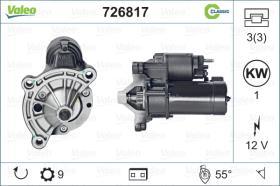 Valeo 726817 - ARR.12V 9D OPEL (JS941) CLASSIC