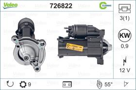 Valeo 726822 - ARR.12V 9D CITR/PEUG. (3600) CLASSIC