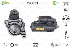 Valeo 726831 - ARR.12V 9D SEAT/VW (3811) CLASSIC