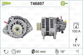 Valeo 746807 - ALT.12/60A REN.