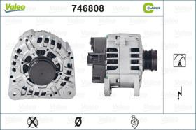 Valeo 746808 - ALT.12/100A OPEL C/DEPR. CLASSIC