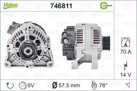 Valeo 746811 - ALT.12/120A AUDI/SEAT/SKODA/VW  CLASSIC
