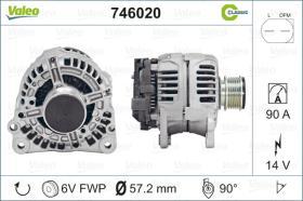 Valeo 746820 - ALT.12/70A CITR/PEUG. (4390) CLASSIC