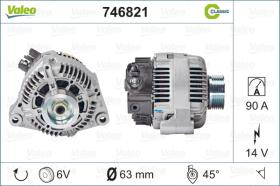 Valeo 746821 - ALT.12/90A AUDI/SEAT/SKODA/VW  (CA1446)CLASSIC