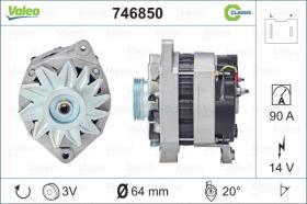 Valeo 746850 - ALT.12/80A CITR/PEUG.5PV CLASSIC