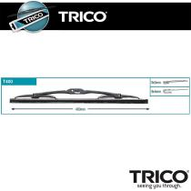 Trico T400 - J.1 ESCOB.350MM UNIV.