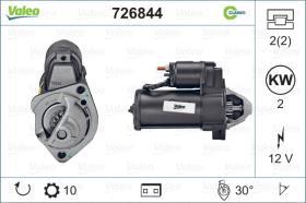 Valeo 726844 - ARR.12V 10D REN.(3011) CLASSIC