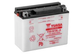 Yuasa Y50N18LADC - BATERIA MOTO 20AH 240A +4 205X90X16