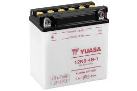 Yuasa 12N94B1DC - BATERIA 12/9A +IZQ 13X75X13
