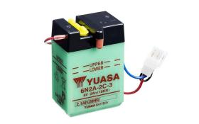 Yuasa 6N2A2C3DC - BATERIA 6/11A +DCH 12X62X13 T6
