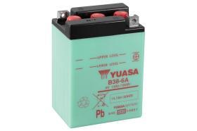 Yuasa B386ADC - BATERIA 6/6A +DCH 99X57X11 T6