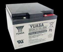 Yuasa REC2612 - BATERIA 12/22A 181,5X77X166,5 CICLICA (CARROS GOLF)