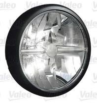 Valeo 045304 - MINI OSCAR LED BLACK & CHROME FINISH