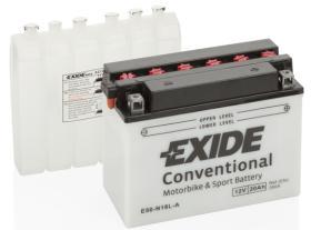 EXIDE E50N18LA - BATERIA 12/4A.+DCH 120X70X92