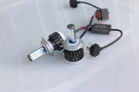 Lantsun 011403 - KIT LED H4 (12/24V) SLIM