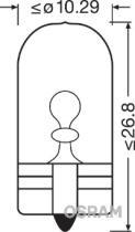 Osram 2845 - LAMP.12/5W CONTROL S/C (GRANDE)
