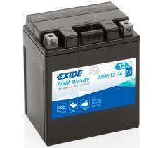 EXIDE AGM1214 - BATERIA 12V 10AH 150A +I 150X90X130