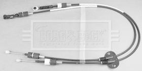 Borg & Beck BKG1048 - CABLE CONTROL DE CAMBIO